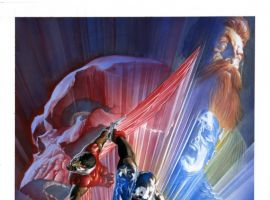 Image Featuring Doctor Faustus, Black Widow, Captain America, Sharon Carter, Falcon, Nick Fury, Union Jack (Joseph Chapman)