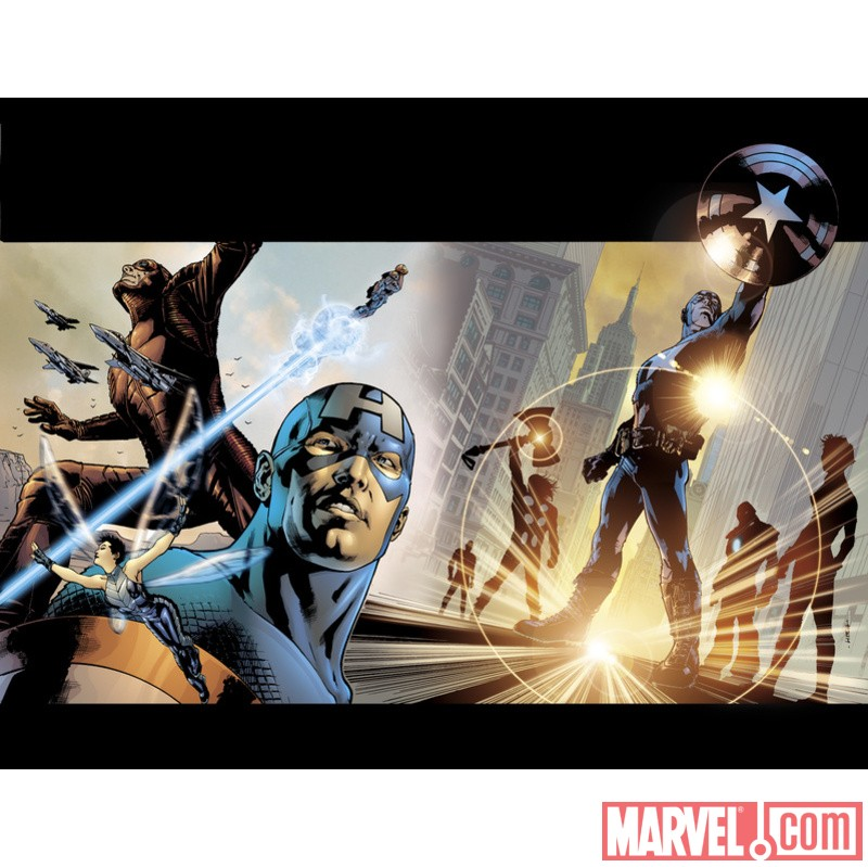ULTIMATES #1 GATEFOLD COVER
