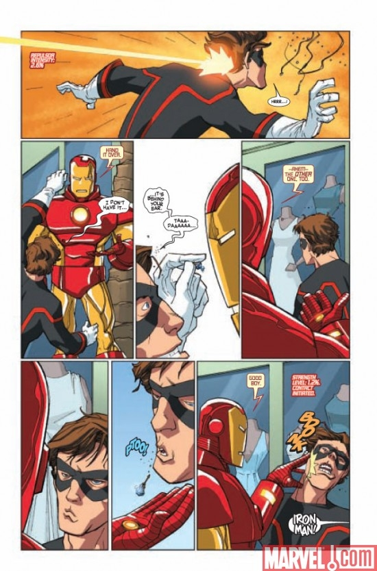 IRON MAN & THE ARMOR WARS #1 Page 3