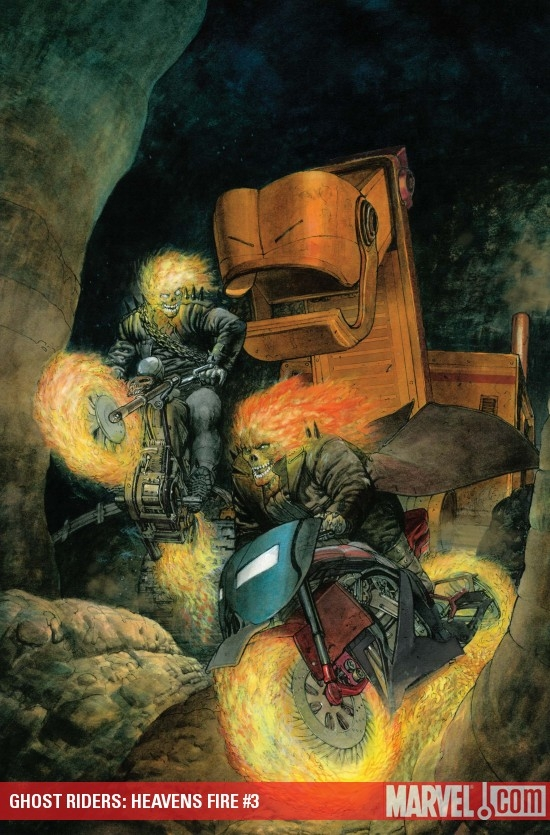 GHOST RIDERS: HEAVENS FIRE #3