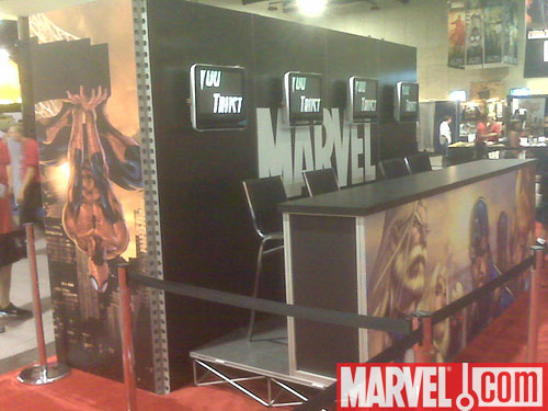 Marvel Signing Booth #2