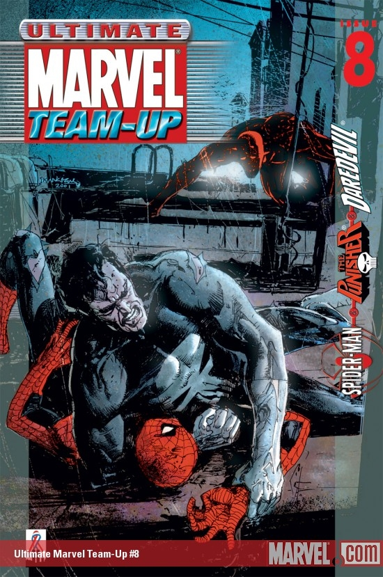 Ultimate Marvel Team-Up #8