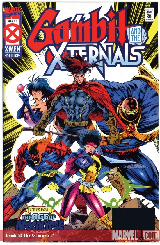 Gambit &amp; The X-Ternals #1