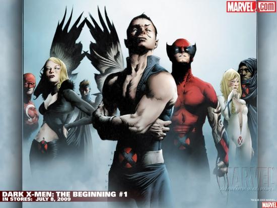 Dark X-Men: The Beginning (2009) #1 Wallpaper