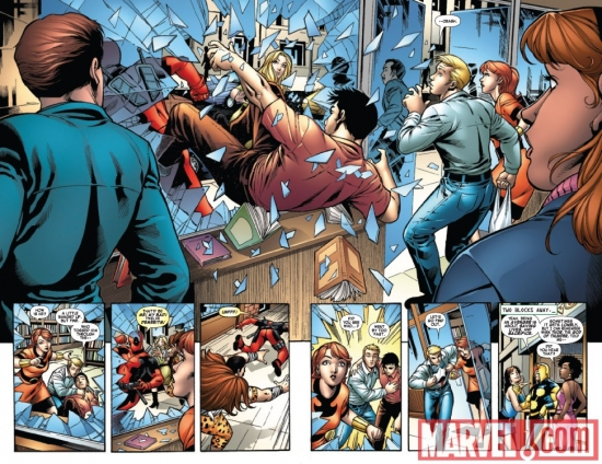 MARVEL ADVENTURES SUPER HEROES #4 preview art by Ronan Cliquet