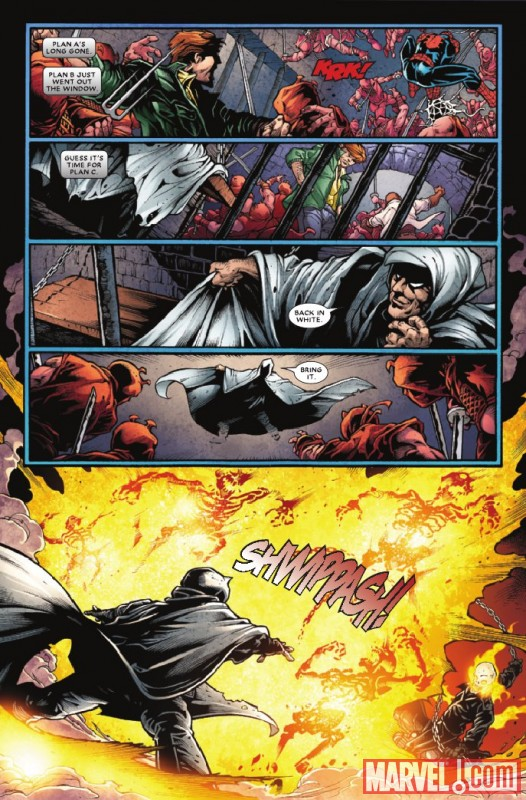Image Featuring Spider-Man, Ghost Rider (Johnny Blaze)