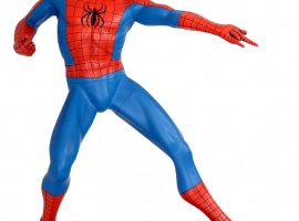 Spider-Man statue from Muckle Mannequins