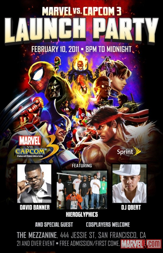 The MvC3 Launch Event