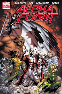 Alpha Flight #1  (Eaglesham Variant)