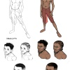 Ultimate Spider-Man design sketches by Sara Pichelli