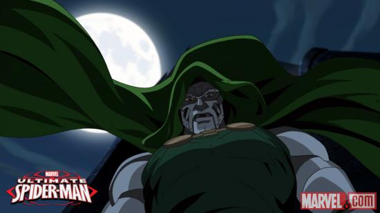 "Doctor Doom of ""Ultimate Spider-Man"""