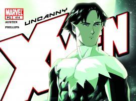 Uncanny X-Men #414 Cover