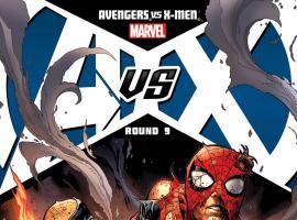 Avengers Vs. X-Men #9 cover by Jim Cheung