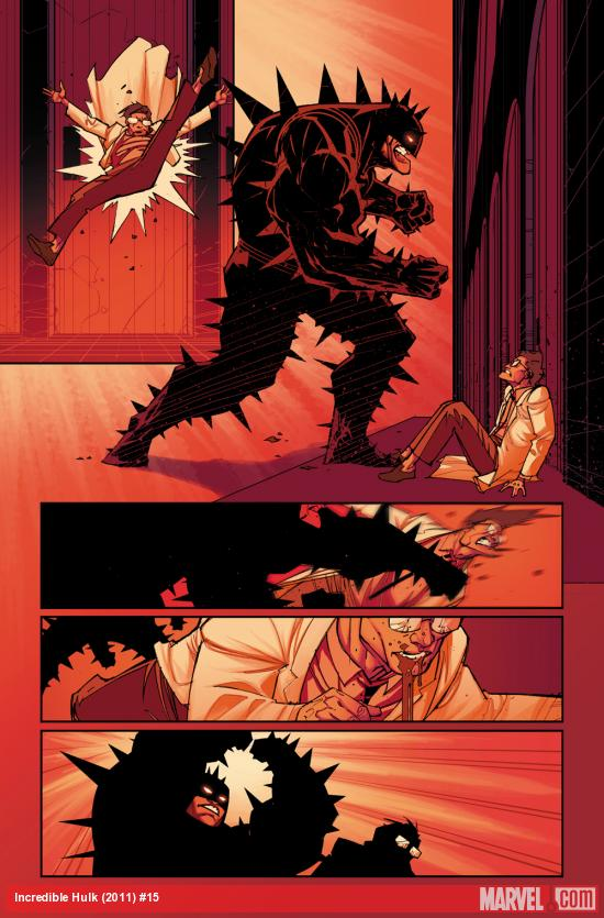 Incredible Hulk (2011) #15 preview art by Jefte Palo