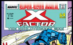 X-Factor Annual (1986) #3 Cover
