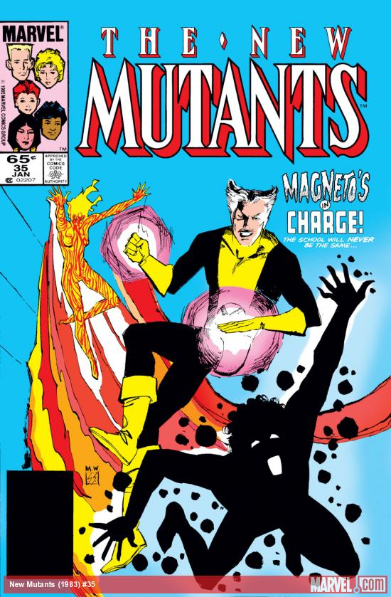 New Mutants (1983) #35 Cover