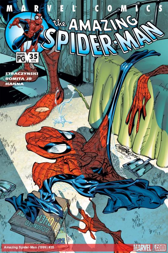 Amazing Spider-Man (1999) #35 Cover