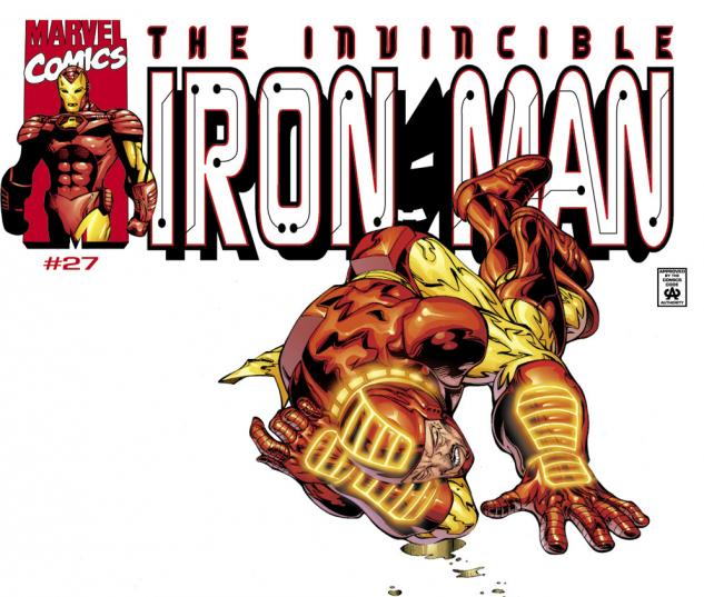 Iron Man (1998) #27 Cover