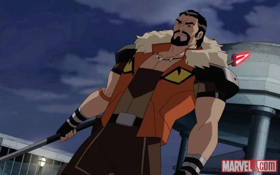 Kraven the Hunter makes his debut on Ultimate Spider-Man