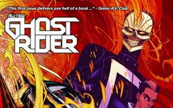 All-New Ghost Rider #1 second printing cover by Tradd Moore