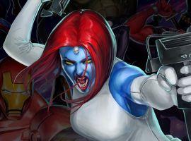Mystique in Marvel Puzzle Quest