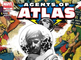 Agents of Atlas (2006) #3 Cover