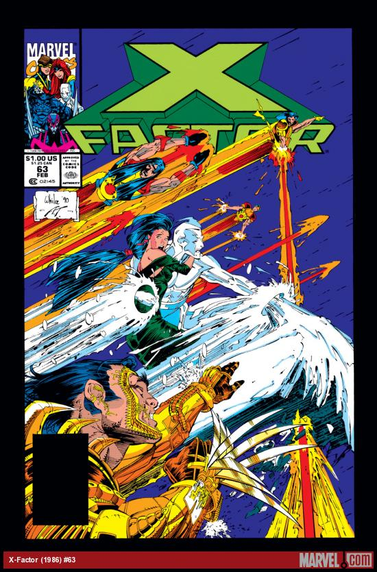 X-Factor (1986) #63 Cover