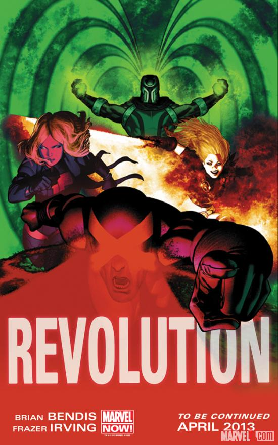 The Future of Marvel NOW! Is Revolution