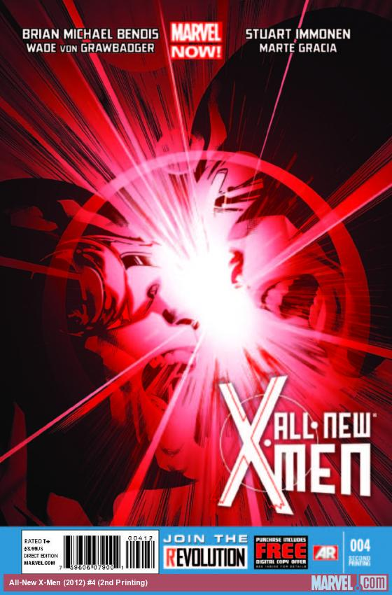 ALL-NEW X-MEN 4 2ND PRINTING VARIANT