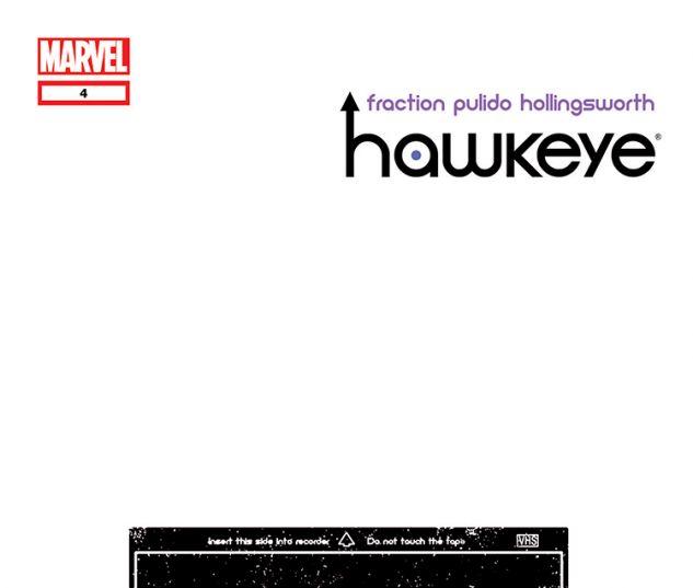 Hawkeye (2012) #4