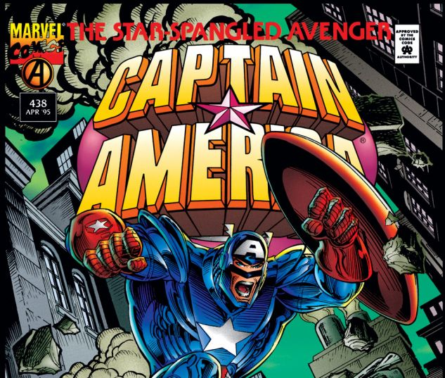 Captain America (1968) #438 Cover