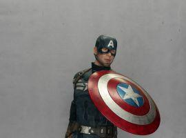 Life-Size Captain America Statue
