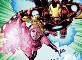Iron Man: Sound Effects art by Karl Moline