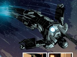 Invincible Iron Man (2015) #6 preview art by Mike Deodato
