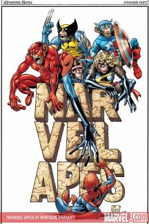 Marvel Apes #1  (BACHS VARIANT)