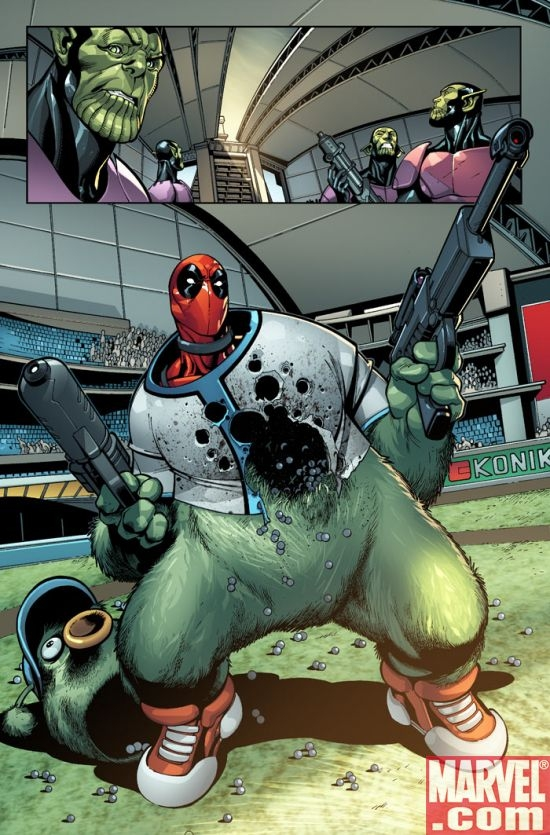 DEADPOOL #1, page 7