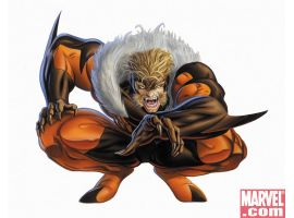 Sabretooth from the comics