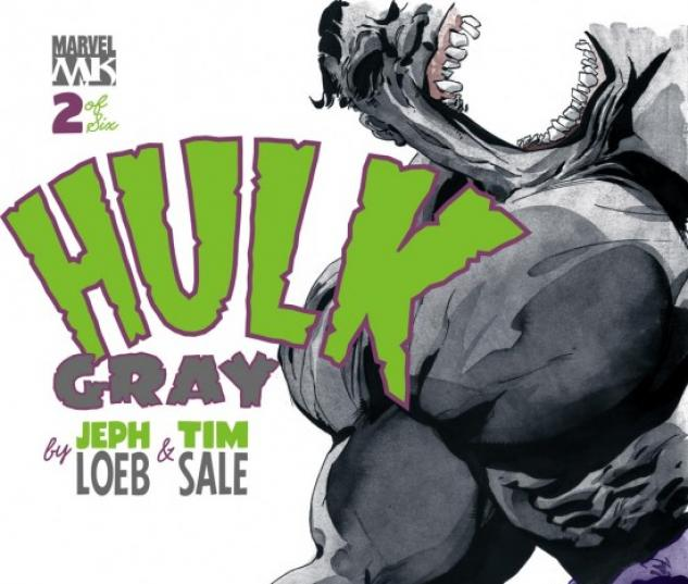 HULK: GRAY (2004) #2 COVER