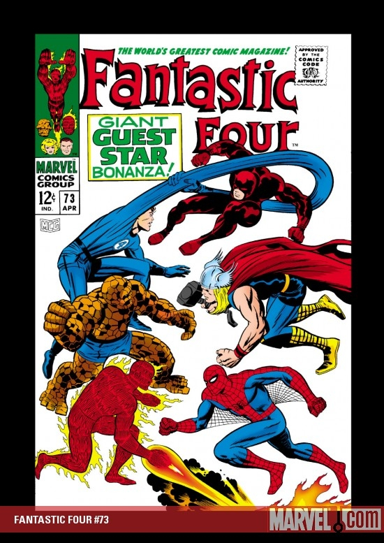 FANTASTIC FOUR #73