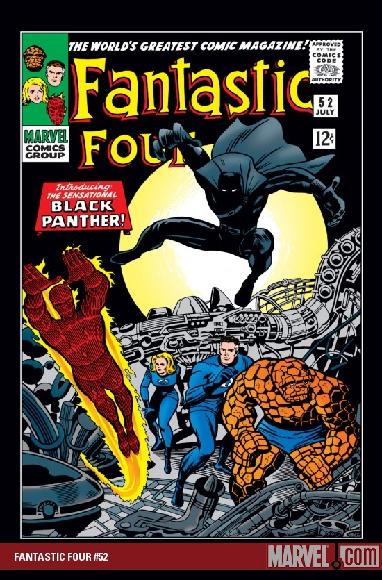 FANTASTIC FOUR #52