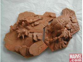Marvel Zombies combined base sculpt
