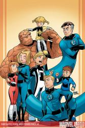 Fantastic Four and Power Pack: Favorite Son (Digest)
