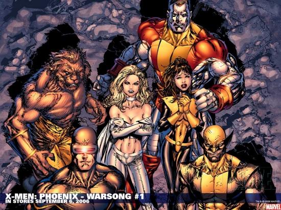 X-Men: Phoenix - Warsong (2006) #1 Wallpaper