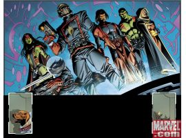 GUARDIANS OF THE GALAXY preview art by Paul Pelletier