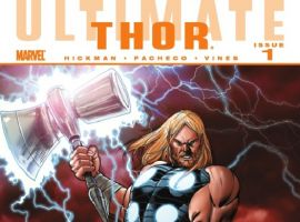 ULTIMATE COMICS THOR #1 cover by Carlos Pacheco