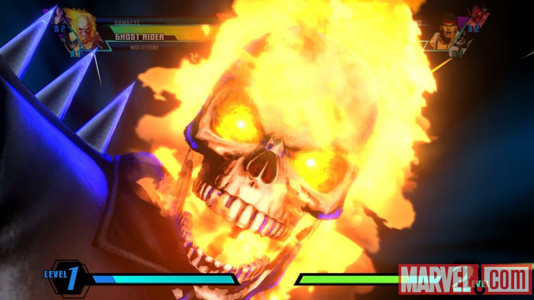 Ghost Rider in Ultimate Marvel vs Capcom 3 by Capcom