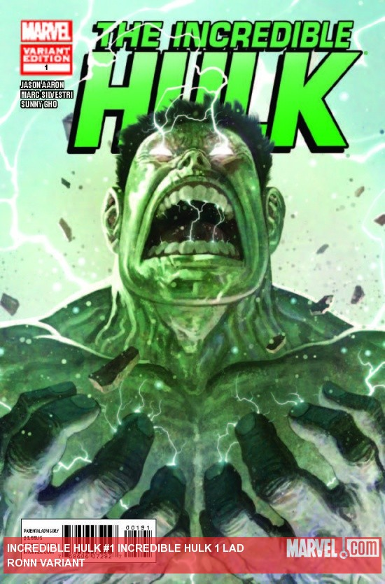 INCREDIBLE HULK 1 LADRONN VARIANT
