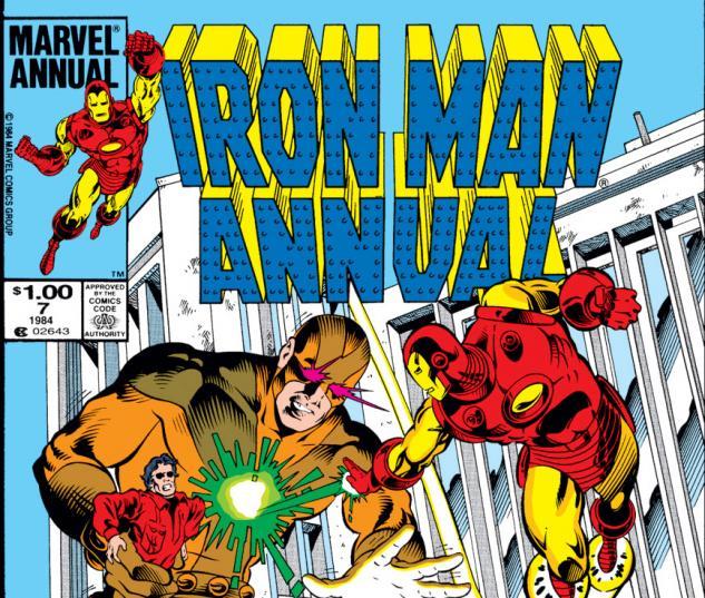 Iron Man Annual (1976) #7