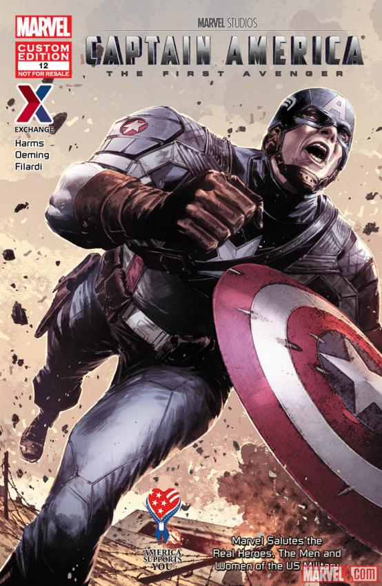 Captain America: The First Avenger cover by Butch Guice & Bettie Breitweiser