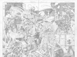 Hulk (2008) #56 preview pencils by Dale Eaglesham